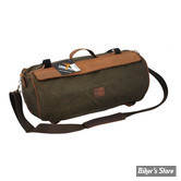 SAC - LONGRIDE - ROLLER BAG - WAXED COTTON - KAKI