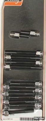 ECLATE F - PIECE N° 05 - KIT VISSERIE DE CULBUTEURS XL 77/85 - OEM 4710 / 4014W / 6316HW / 341 - CAP STYLE - CHROME