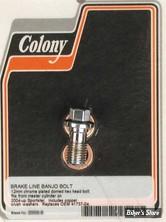 VIS BANJO 12MM X 1.50 - OEM 41737-04 - CHROME - HEX - COLONY