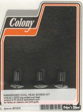 ECLATE A - PIECE N° 04 - VIS DE COULISSE - 33822-36 / 2210-36 - NOIR / PARKERIZED - COLONY
