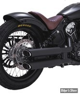 "SILENCIEUX - INDIAN SCOUT 15UP - VANCE & HINES - TWIN SLASH SLIP-ONS 3"" - NOIR - 48623"