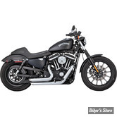 ECHAPPEMENTS VANCE & HINES SHORTSHOTS STAGGERED - SPORTSTER 14up - CHROME - 17229
