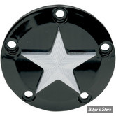 CACHE ALLUMAGE - TWIN CAM 99UP - NEW YORK CHOPPERS - NAUTICAL STAR - NOIR / ETOILE CHROME