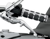 KIT LEVIERS - SOFTAIL 96/14 / DYNA 96UP / TOURING 96/07 / SPORTSTER 96/03 - KURYAKYN - TRIGGER - CHROME - 1029