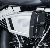 - FILTRE A AIR - KURYAKYN - TOURING 08/16 / FXDLS 16UP / SOFTAIL 16UP  - HYPERCHARGER ES - CHROME & NOIR - 9358