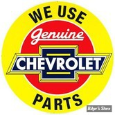 PLAQUE METALLIQUE - CHEVROLET - FOI-RD2 - # 61