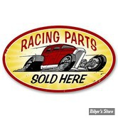 PLAQUE MURALE - RACING PARTS - DIMENSION : 61 CM X 35.56 CM