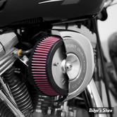 - FILTRE A AIR - ARLEN NESS - STAGE 1 - STAGE I BIG SUCKER AIR FILTER KIT - TOURING 08/13 / SOFTAIL 2016UP - FILTRE STANDARD - Plaque chrome - 18-512