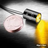 CLIGNOTANT A LEDS -   KELLERMANN ATTO® INTEGRAL - FINITION : NOIR - CABOCHON : CLAIR - LA PIECE - 152-500