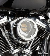 KIT FILTRE A AIR A.NESS - SOFTAIL 18UP / TOURING 17UP - NESS METHOD CLEAR SERIES AIR CLEANER - CHROME - 18-970