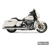 "SILENCIEUX - BASSANI - TOURING 17UP MILWAUKEE-EIGHT® - 4"" SLIP-ON QUICK CHANGE SERIES MUFFLERS - CORPS : CHROME"