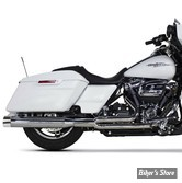 ECHAPPEMENT - TWO BROTHERS RACING - TOURING MILWAUKEE EIGHT 17UP - Ghost Full System - CHROME / EMBOUTS : POLI - 005-46402-P