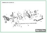 ECLATE IE  - PIECE N° 00 - ECLATE COMMANDE EMBRAYAGE AU PIED - BIGTWIN 41/78