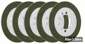 ECLATE A - PIECE N° 08 - DISQUES D'EMBRAYAGE - BIG TWIN 41/84 - BDL - KEVLAR - BT-5 - LE KIT