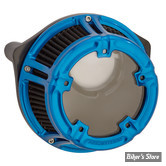 - FILTRE A AIR - ARLEN NESS - NESS METHOD CLEAR SERIES AIR CLEANER - TOURING 08/16 / SOFTAIL 16/17 / DYNA FXDLS 16/17 - ARLEN NESS ANODIZED COLLECTION - BLEU - 18-181