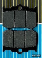 PLAQUETTES POUR ETRIERS PERFORMANCE MACHINE - 125 X 4R ET 137 X 4B - SBS