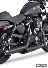 Silencieux Vance & Hines Twin Slash - Sportster 14up - Noir - 46861