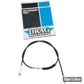 "CABLE D'EMBRAYAGE POUR SPORTSTER 86UP - DRAG SPECIALTIES - 52 3/4 +16"" - NOIR"