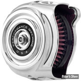 - FILTRE A AIR - PERFORMANCE MACHINE - MILWAUKEE EIGHT TOURING 17UP / SOFTAIL 18UP - VINTAGE AIR CLEANER - CHROME