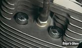 Caches écrous de culasse - BIGTWIN 84/99 / TCAM 99UP / SPORTSTER 86UP - Lisse - Chrome