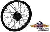 19 x 2.15 - Roue avant 40 rayons Jammer noire - Narrow Glide