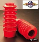 ECLATE N - PIECE N° 53 - Soufflets de fourche 49mm - Courts - Rouge
