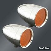 CLIGNOTANT A LEDS - Adjure - Beacon II - Led - Flush - 2 fils - Flame