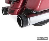 "SILENCIEUX - RINEHART RACING - TOURING 17UP - MUFFLER SLIP-ON 4.5"" - CHROME / EMBOUT : NOIR MOTOPRO 45 - 500-0110"