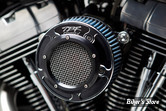 FILTRE A AIR - TWO BROTHERS RACING - TOURING 08/16 / SOFTAIL 16/17 / DYNA FXDLS 16/17 - Comp-V High-Flow Intake System with V-Stack - 2 en 1