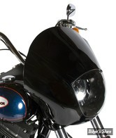 "- TETE DE FOURCHE - UNIVERSELLE / PHARE 5 3/4"" / FOURCHE ETROITE / 39MM - CONELY'S - QUARTER FAIRING"