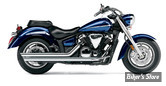 ECHAPPEMENT COBRA - SPEEDSTER - SLASH DOWN - YAMAHA 1300 XVS MIDNIGHT STAR / VSTAR 07/13 - CHROME