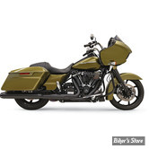 """SILENCIEUX - BASSANI - TOURING 17UP MILWAUKEE-EIGHT® -  CROSSOVER ELIMINATOR WITH 4"""" DNT® SLIP-ON MUFFLER - ROUND - CORPS : NOIR / EMBOUT : NOIR"""