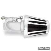 - FILTRE A AIR - ARLEN NESS -  Monster Sucker Air Cleaner - SPORTSTER 88UP - AVEC COUVERCLE - DEEP CUT - CHROME - 81-019