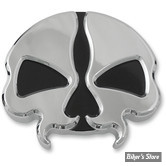 BOUCHON 96UP - DRAG SPECIALTIES - SPLIT SKULL GAS CAPS  - VENTILE - CHROME