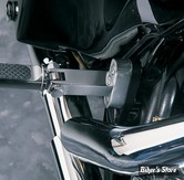 SUPPORTS REPOSES PIEDS PASSAGER - TOURING - TOURING 93UP - DRAG SPECIALTIES / HOTOP DESIGN - CHROME