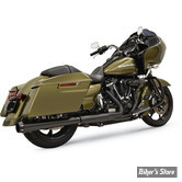 "SILENCIEUX - BASSANI - TOURING 17UP MILWAUKEE-EIGHT® -  CROSSOVER ELIMINATOR WITH 4"" DNT® SLIP-ON MUFFLER - MEGAPHONE - CORPS : NOIR / EMBOUT : NOIR"