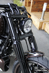ECLATE N - PIECE N° 68 - COUVRES TUBES DE FOURCHE - CULT WERK - BREAKOUT SOFTAIL - 6 PIECES - NOIR BRILLANT