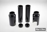 X - COUVRES TUBES DE FOURCHE - CULT WERK - V-ROD 07/11 - 6 PIECES - LONGUEUR : 212MM - NOIR BRILLANT - HD-ROD028-S