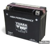 Batterie - 66010-82B - YTX24HLBS - Yuasa sans entretien - GEL / HAUTE PERFORMANCE