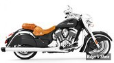 "SILENCIEUX FREEDOM PERFORMANCE - COMBAT - INDIAN CHIEFTAIN / ROADMASTER - 4"" 1/2 - CORPS : CHROME / EMBOUT : NOIR"