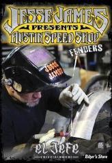 DVD Jesse James - Austin Speed Shop - El Jefe - Fender