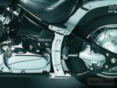 COUVRES CADRE BOOMERANG - KURYAKYN 8237 - V-STAR 1100