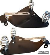 """KIT DE MONTAGE DE SELLE SOLO - SPORTSTER 10UP - La Rosa Design - AVEC RESSORTS  DE 3"""" DE HAUTEUR"""