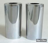 COUVRES TUBES DE FOURCHE - 45964-86 - Inox - Longueur 0