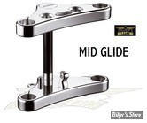 Tes larges Rebuffini - Leda - 39mm - Mid Glide - FXD/XL 88/99 - Chrome - 4