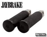REPOSES PIEDS JAY BRAKE FULL RUBBER - NOIR - 1.25