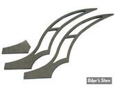 GARDE BOUE ARRIERE A SOUDER - BK STILLETTO : Sabres en acier à souder pour Softail, pour gardes-boue Stilletto