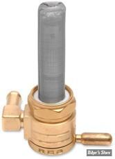 Robinet d essence GOLAN - Click-Slick - 22mm - Backward/Arriere - Laiton