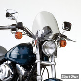 PARE BRISE NATIONAL CYCLE - SWITCHBLADE DEFLECTOR - SPORTSTER / DYNA 91/05 / FXR - TEINTE : CLAIR - N21917
