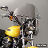PARE BRISE NATIONAL CYCLE - SWITCHBLADE CHOPPED - SPORTSTER / DYNA 91/05 / FXR - TEINTE : GRIS 30% - N21418